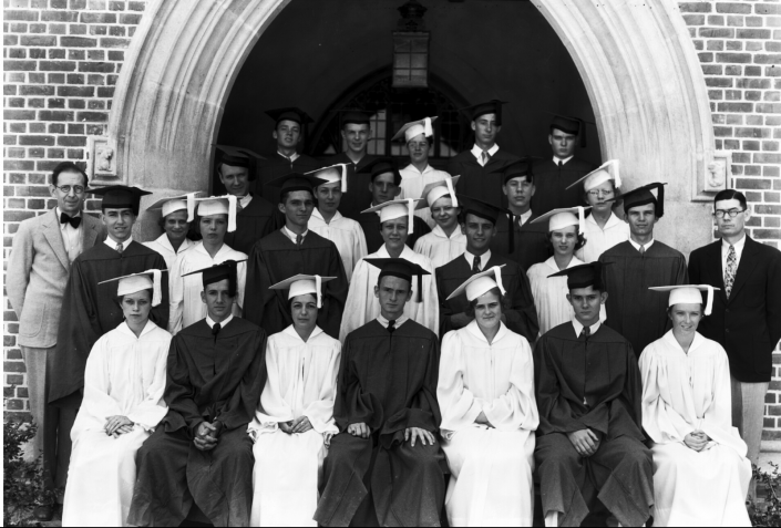 1950s P.K. Yonge Student Graduation