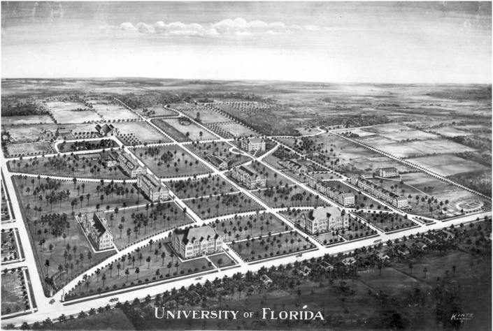 Proposed UF Drawing - Date unknown