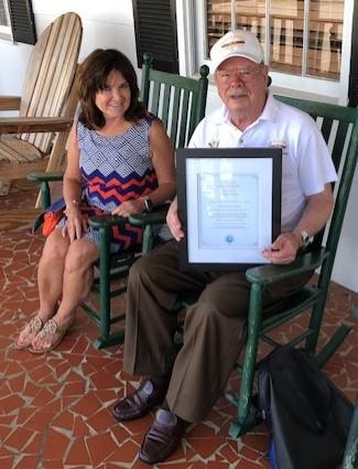 Glenn Tucker Endowment Certificate