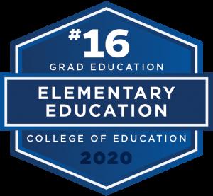 #16 Graduate Education - Elementary Education - College of Education 2020