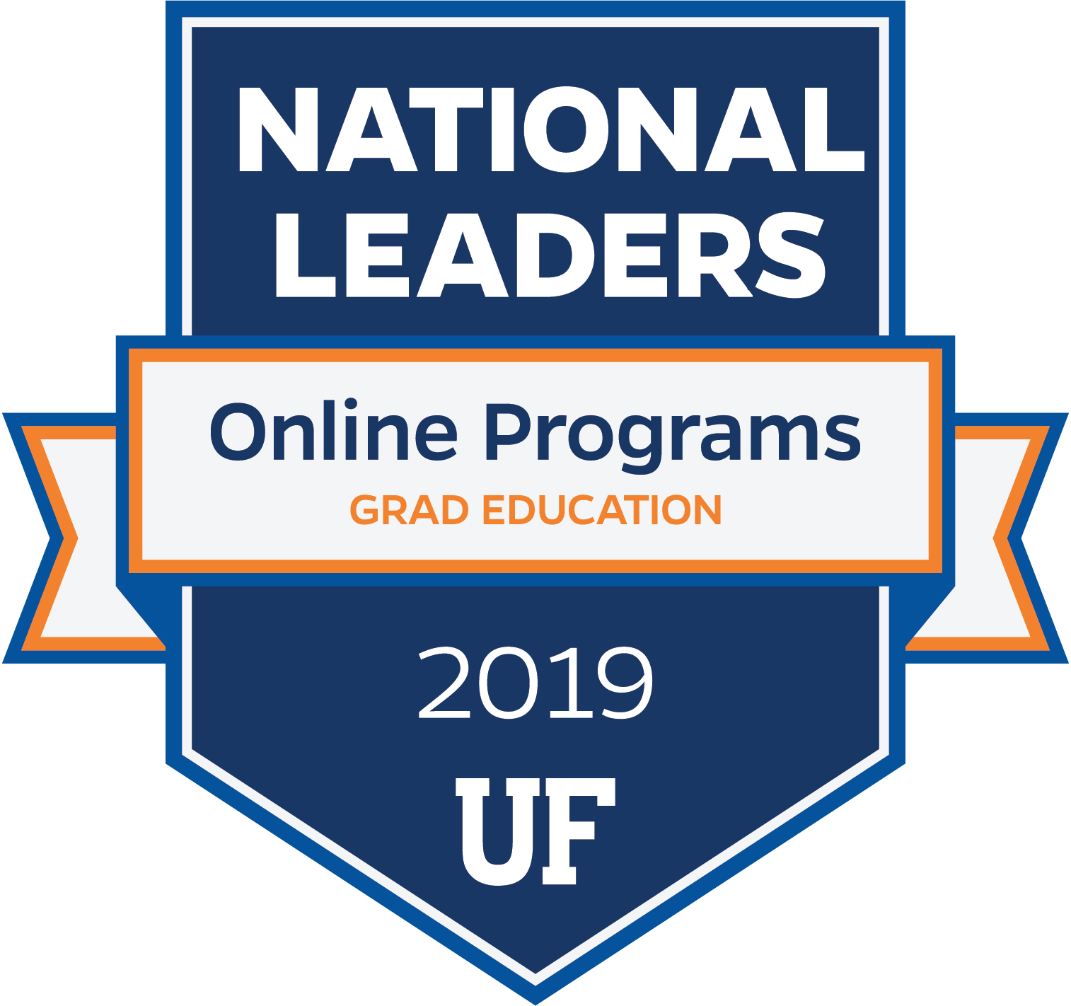 National Leaders in Online Grad Education Programs for 2019