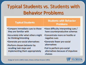 5 JPG Cognitive-Behavioral Interventions to Reduce Problem Behavior