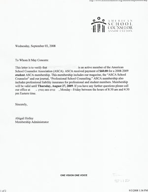 school counselor cover letter examples
