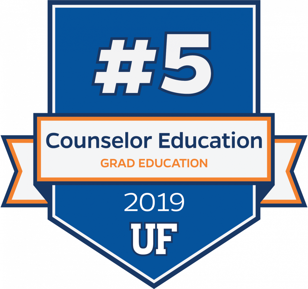#5 in Counselor Education for 2019