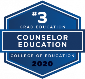 U.S. News & World Report 2020 Graduate Education Ranking - Counselor Edcuation