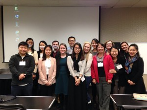 Students and faculty at the Journal of Language & Literacy Education Conference in Feb. 2016 (Athens, GA).