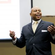 Shon Smith teaching his counselor education course