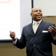 Shon Smith teaching his counselor education course
