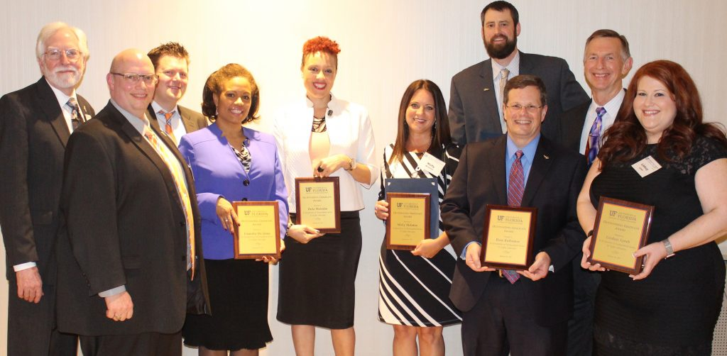 10 outstanding alumni honored by the Institute of Higher Education at UF