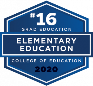 U.S. News & World Report 2020 Best Graduate School Ranking - Elementary Education