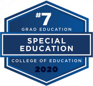 2020 US News & Wold Reports Grad School Ranking - Special Education