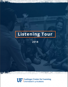 Lastinger Center Listening Tour Report