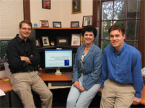 From left to right: Chris Mullin, Linda Hagedorn, and Ben Walker