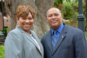 Cheryl Williams and Michael Bowie, the prime drivers behind the recent launch of a statewide mentoring program for at-risk minority youth.