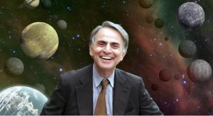 """Carl Sagan, original """"Cosmos"""" host"""