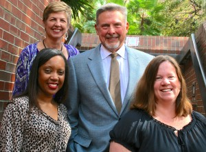 The CEEDAR leadership team (clockwise from bottom left), : Erica McCray, Mary Brownell, Paul Sindelar, Meg Kamman (center coordinator)