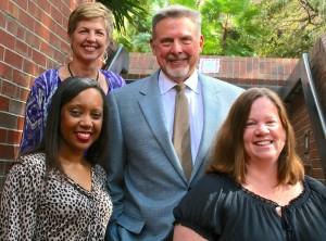 The CEEDAR leadership team (clockwise from bottom left), : Erica McCray, Mary Brownell, Paul Sindelar, Meg Kamman (center coordinator)