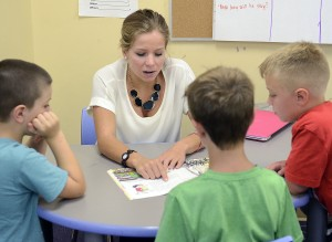 Caquatto was a volunteer tutor last year at a summer camp for children with reading disabilities.
