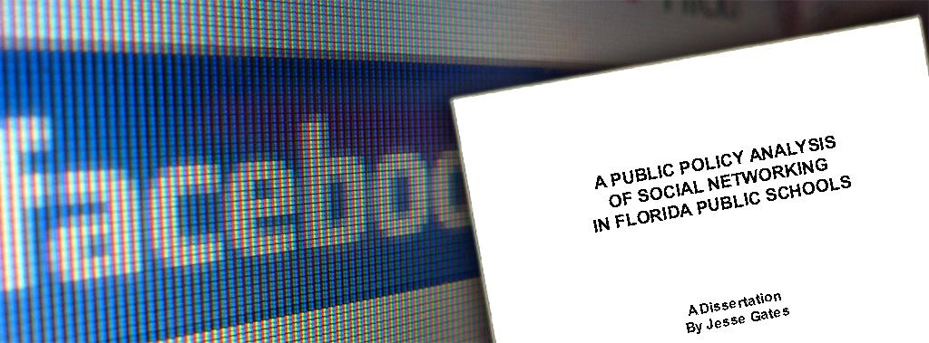 Social Media in Public Schools Dissertation
