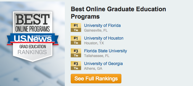 UF online graduate education rated best in nation » COE News ...