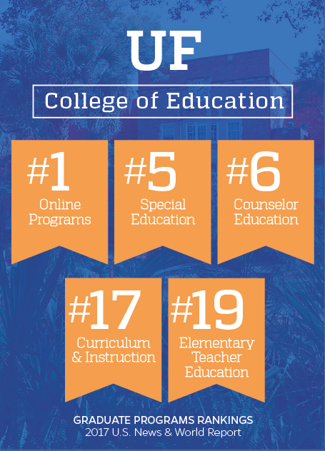 US News ranks UF College of Education 20th; 2 programs in top 10 ...