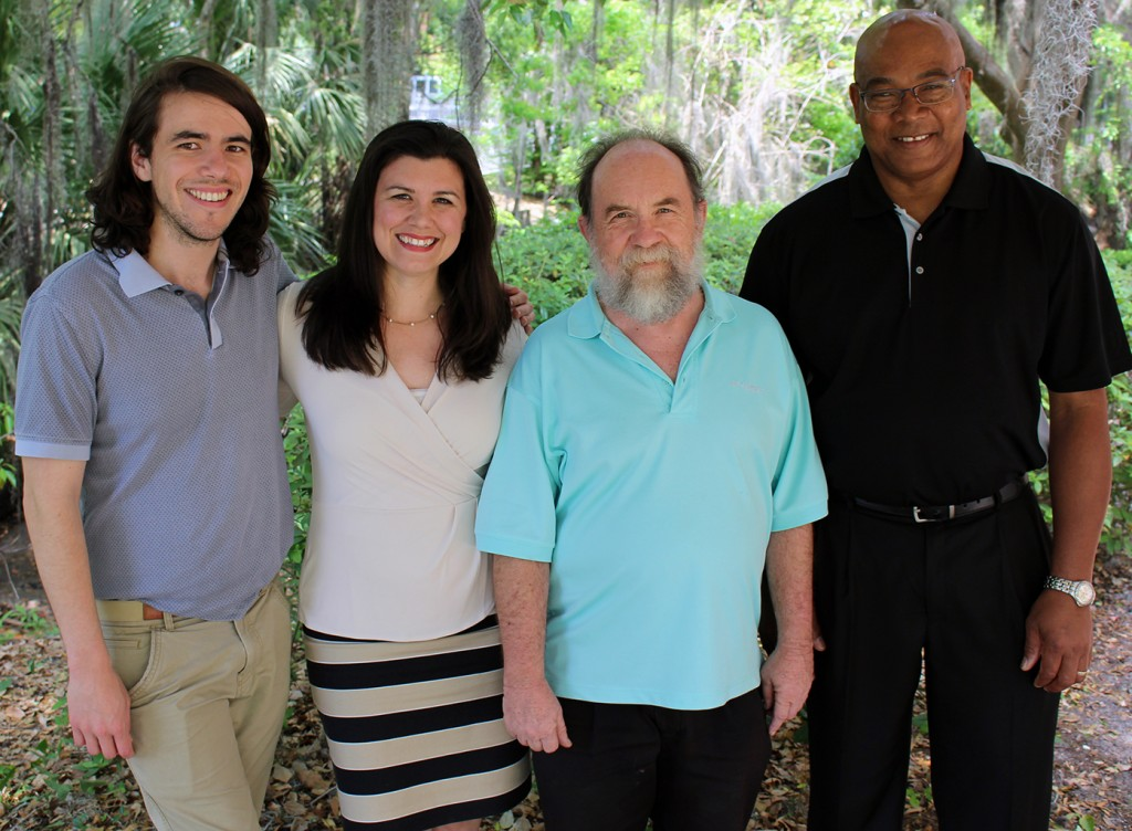 "Cody Miller, Kate Yurko, Bill Steffens and George Pringle are K-12 ""teachers of high impact."""