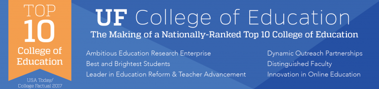 UF College of Education Garners Another Top 10 Ranking » COE News ...