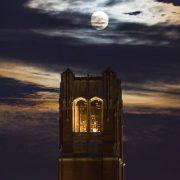 Century Tower at Night