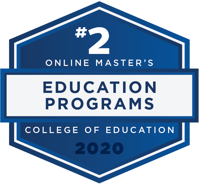 #2 2020 Rankings - Online Masters - Education Programs