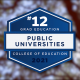 U.S. News Graduate Education Rankings