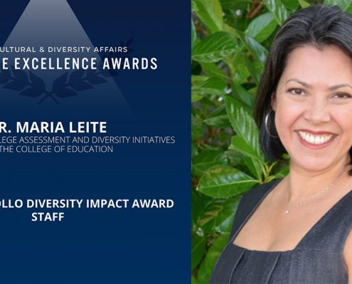 Rollo Award Announcement fo Maria Leite