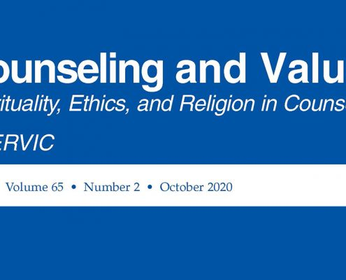 Counseling and Values - October 2020