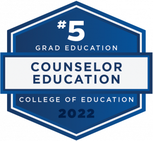 #5 - Grad Education - Counselor Education - College of Education - 2022