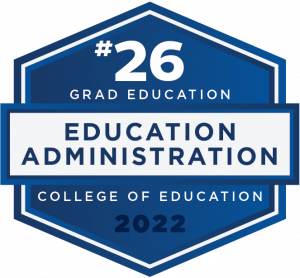 #26 - Grad Education - Education Administration - College of Education - 2022