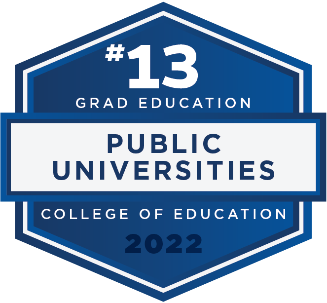 #13 - Grad Education - Public Universities - College of Education - 2022