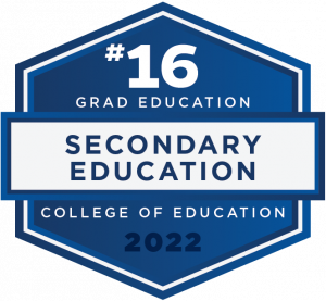 #16 - Grad Education - Secondary Education - College of Education - 2022