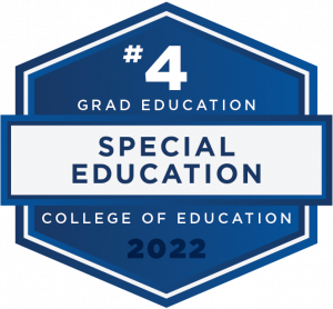 #4 - Grad Education - Special Education - College of Education - 2022