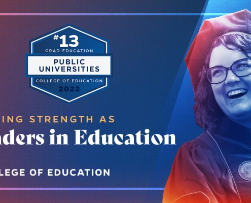 Ranked No. 13 for public institutions by U.S. News & World Report