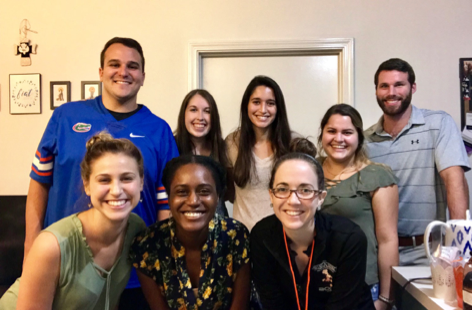 School Psychology Graduate Student Association Officers