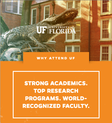 Admissions at UF