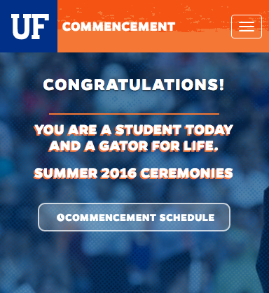 Commencement UF