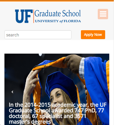 Grad School at UF