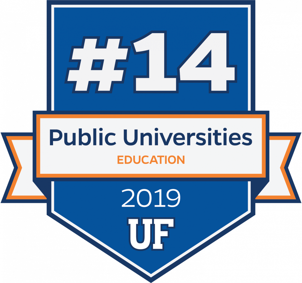 #14 in Education at Public Universities for 2019