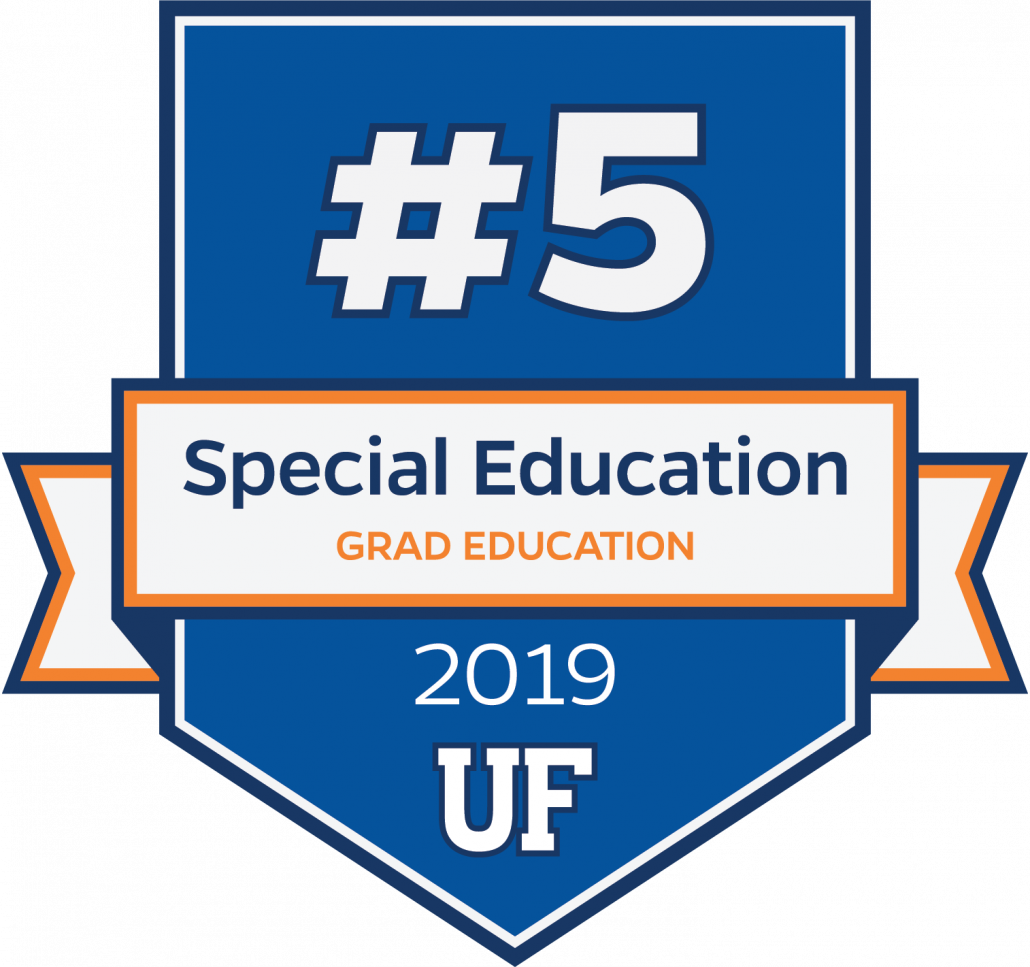 #5 in Special Education for 2019